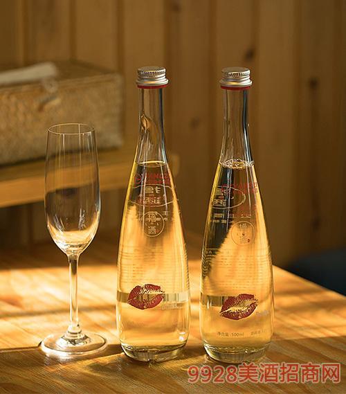 扬子撸点酒尊享水蜜桃味酒13度500ml