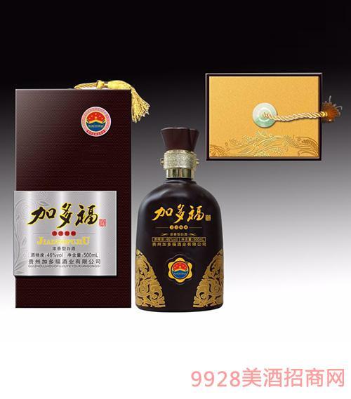 加多福酒46度500ml浓香型