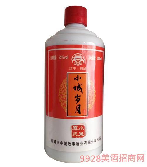 小城岁月酒小米原浆52度500ml