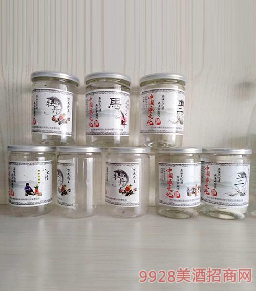 中国风文化酒