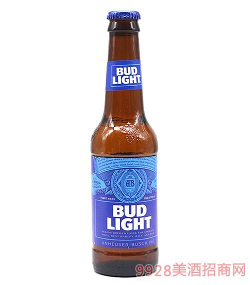 旋盖蓝百威啤酒