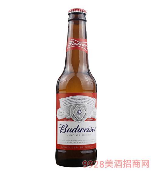 旋盖红百威啤酒