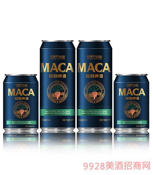 揚子健康啤酒聽裝瑪咖啤酒