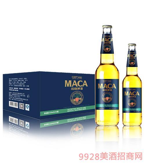 揚子瑪咖啤酒瓶裝10°P330ml
