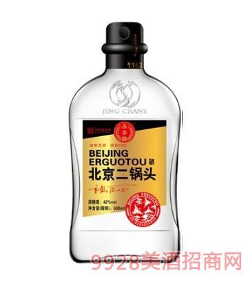 京鹤匠心酒北京二锅头金42度500ml