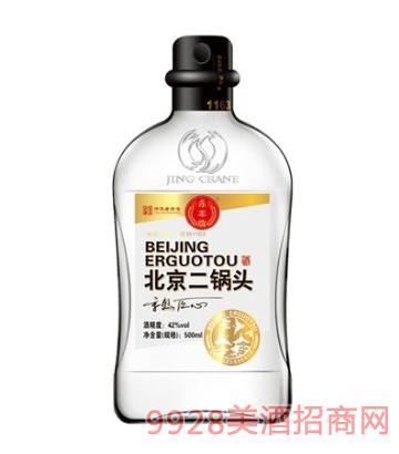 京鶴匠心酒北京二鍋頭白42度500ml