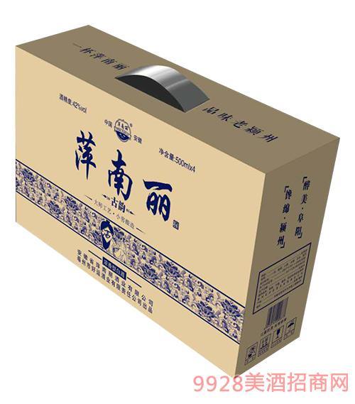 萍南丽酒古韵礼盒42度500mlx4