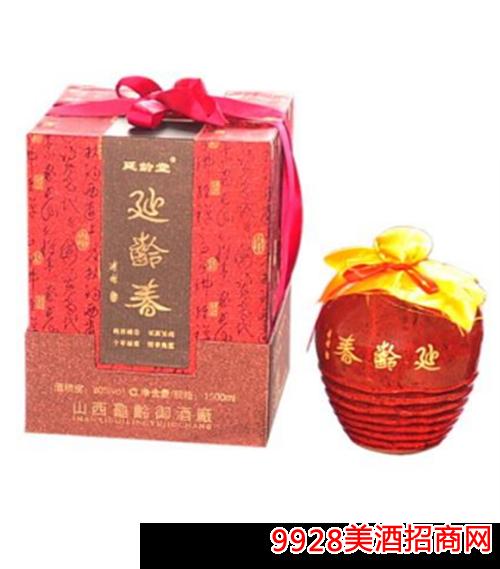延龄春清香型白酒1.5L