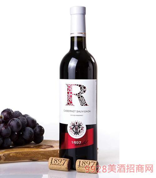 R系列半甜红葡萄酒12度750ml