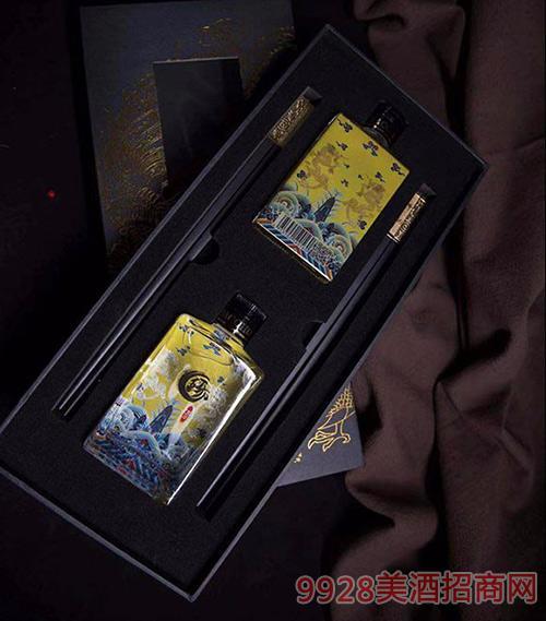 琊酒国风礼盒