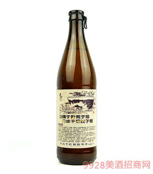 青岛千红精酿啤酒 业精于勤荒于嬉,行成于思毁于随