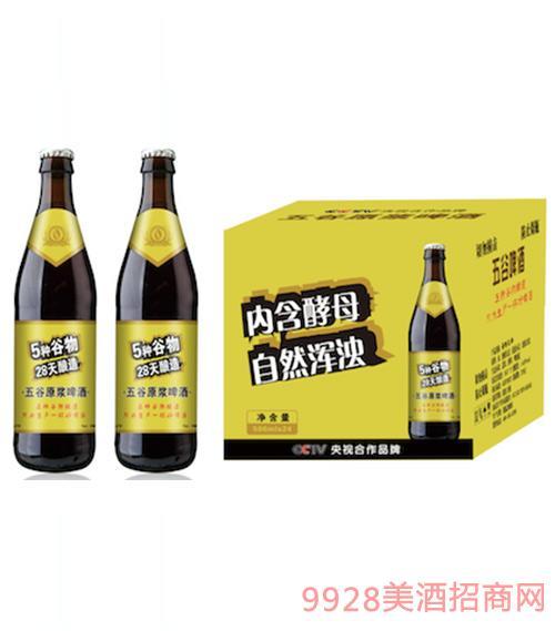 圣洲公爵五谷黑啤酒500ml
