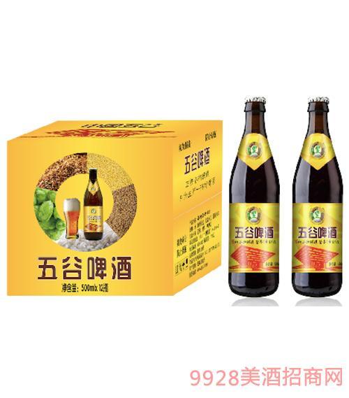 五谷啤酒500ml
