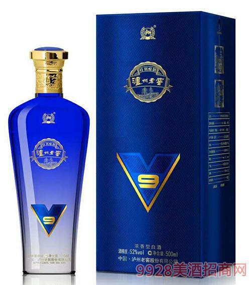 泸州老窖9酒(蓝)52度500ml