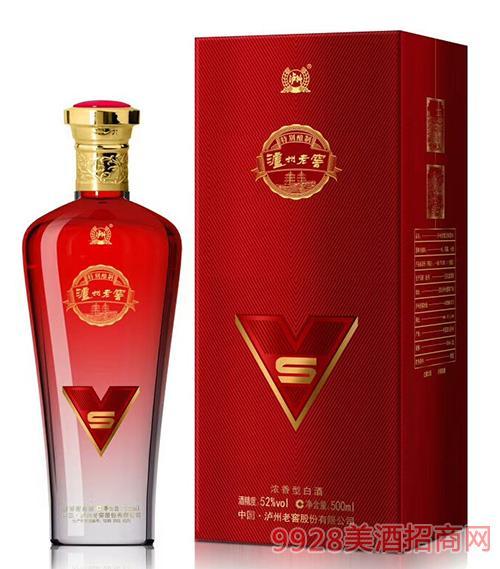 泸州老窖S酒(红)52度500ml