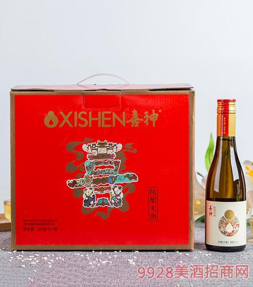 喜神纯酿米酒365mlx6瓶