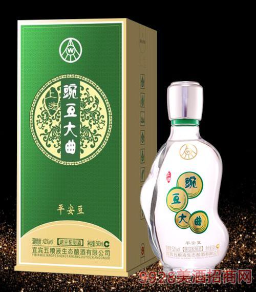 豌豆大曲酒平安豆52度500ml
