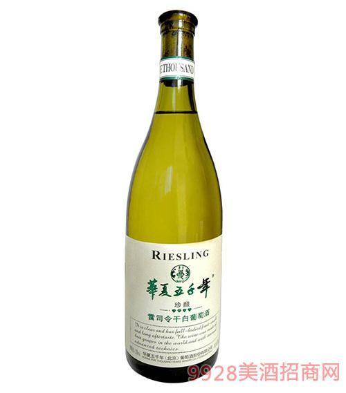 雷司 令干白葡萄酒12度750ml