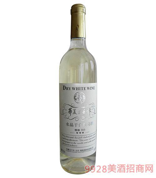 96水晶干白葡萄酒12度750ml
