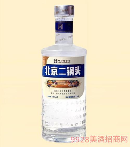 北京二锅头喝印象42度500ml