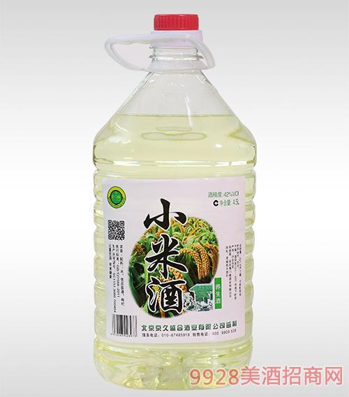 小米桶装酒42度4.5L