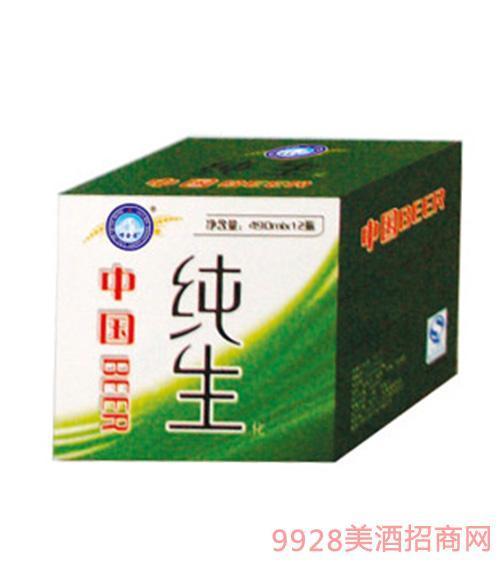 嶗金泉純生啤酒500mlx12瓶