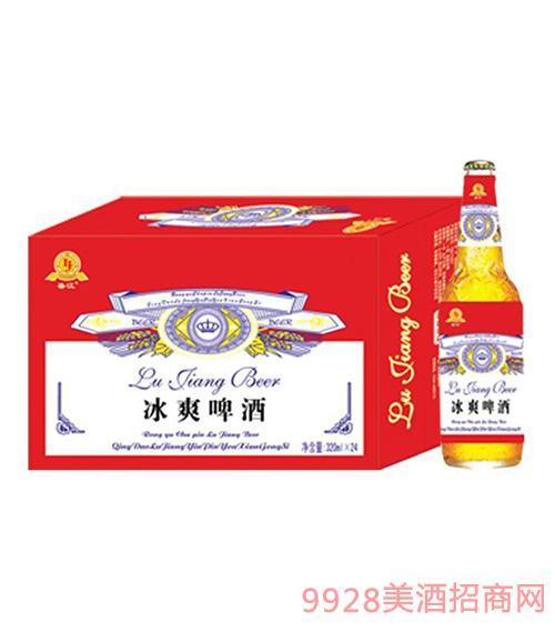 哈尔滨冰爽啤酒瓶装
