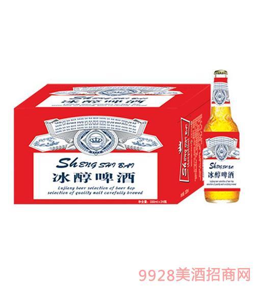 哈尔滨冰醇啤酒瓶装