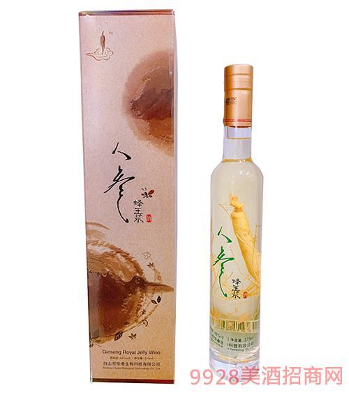 长白山蜂王浆酒42度375ml