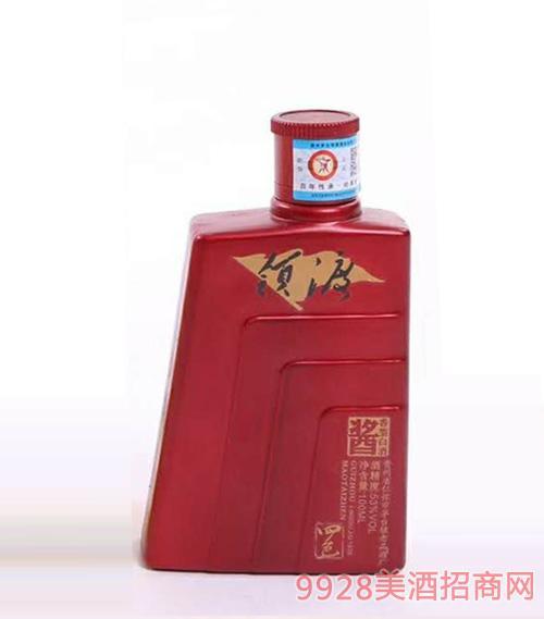 领渡四色文化小酒红瓶