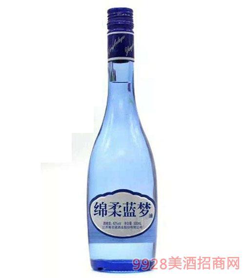 绵柔蓝梦酒42度500ml