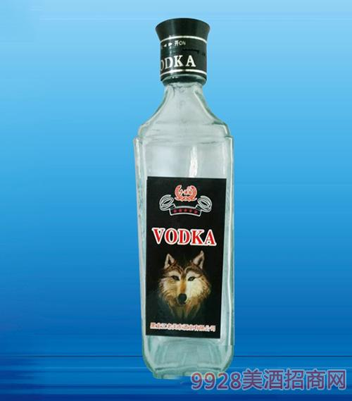 狼头光瓶酒