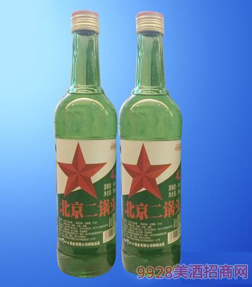 北京二锅头酒绿瓶42度500ml