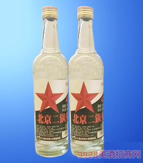 北京二锅头酒白瓶42度500ml