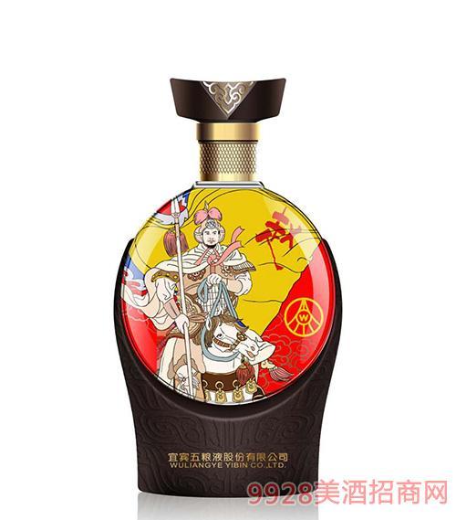 宜宾五粮液股份公司出品三国文化酒-赵云