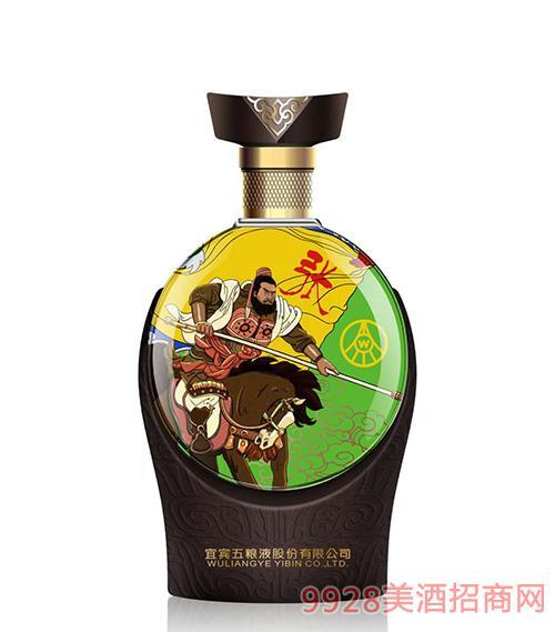 宜宾五粮液股份公司出品三国文化酒-张飞