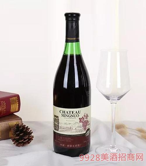 名諾甜紅葡萄酒11.5度750ml