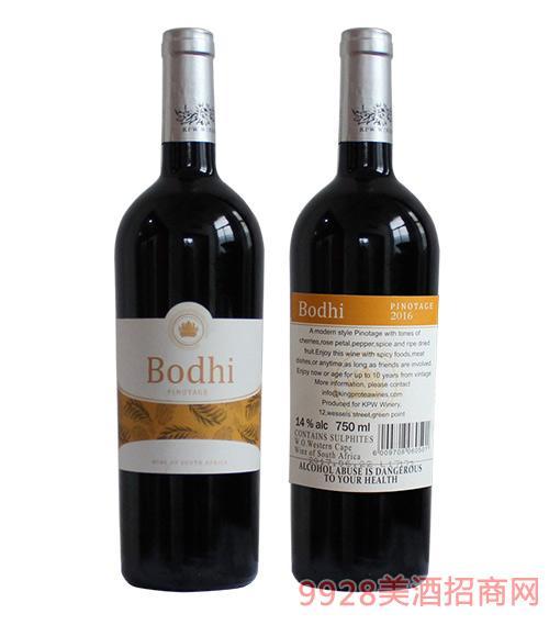 菩提品诺塔琪红葡萄酒14度750ml