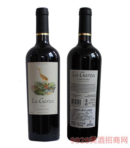 罗格萨精选卡曼尼干红葡萄酒13.5度750ml
