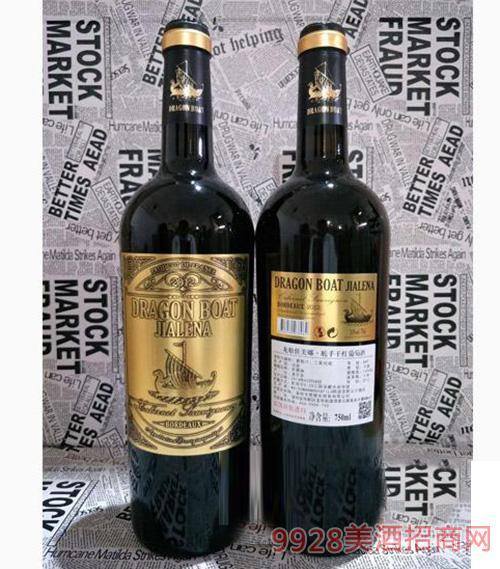 龙船佳美娜 舵手干型葡萄酒 750ml