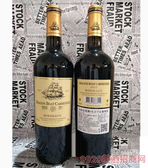 龙船佳美娜 大卫干型葡萄酒750ml