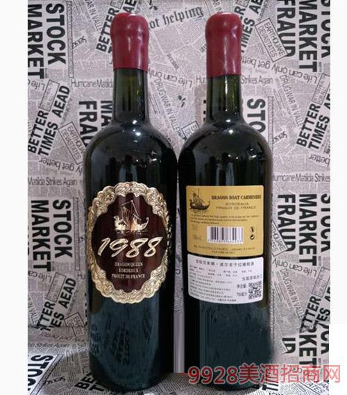 龙船佳美娜 波尔多干型葡萄酒750ml