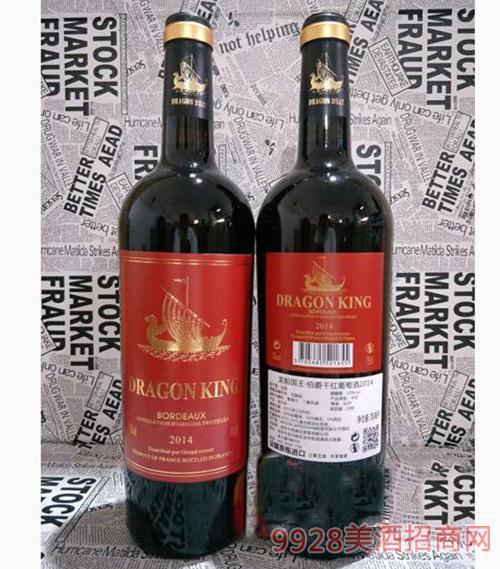 龙船国 王伯爵号干型葡萄酒750ml