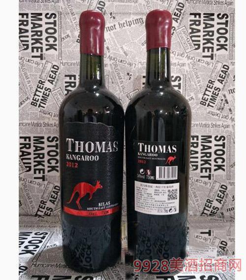 ?#26032;?#26031;袋鼠西拉干红葡萄酒750ml