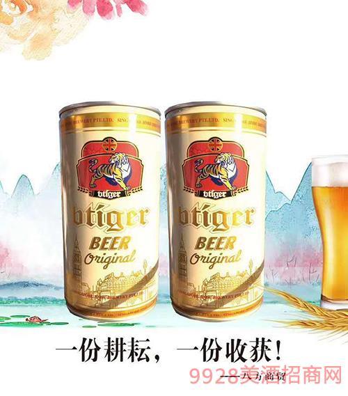 新加坡劲虎啤酒白啤950mlx6