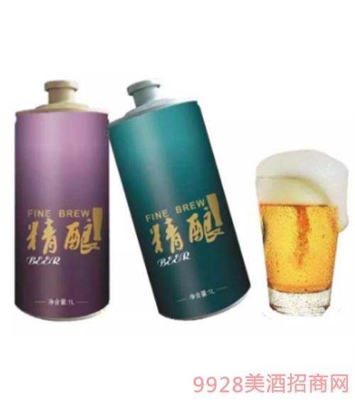 精酿啤酒1L
