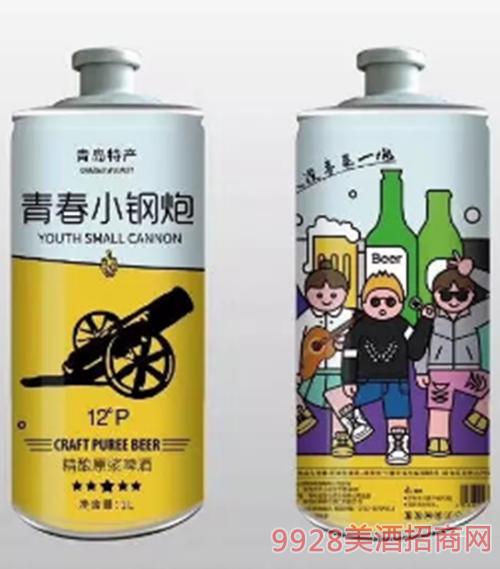 青春小钢炮啤酒2L
