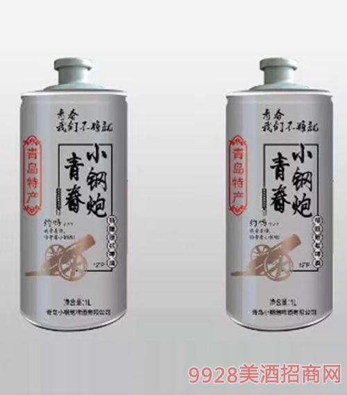 青岛小钢炮啤酒1L