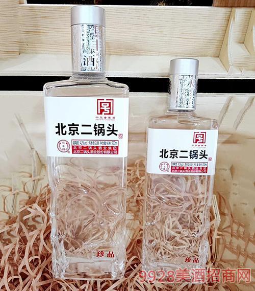 永丰牌北京二锅头酒珍品500Ml白标