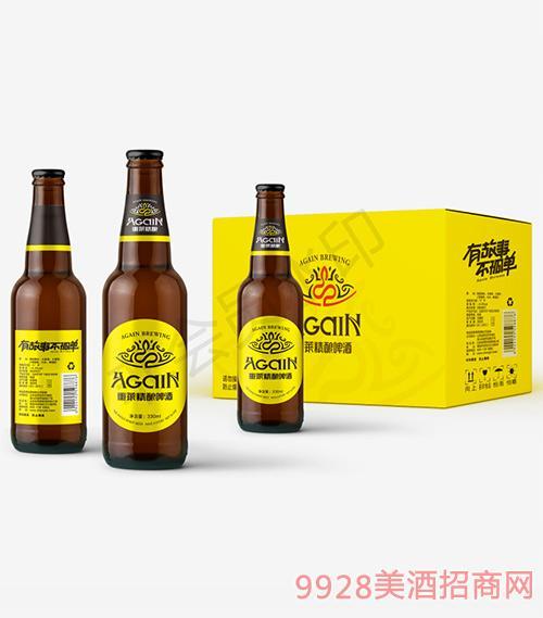 重莱精酿啤酒瓶装330ml